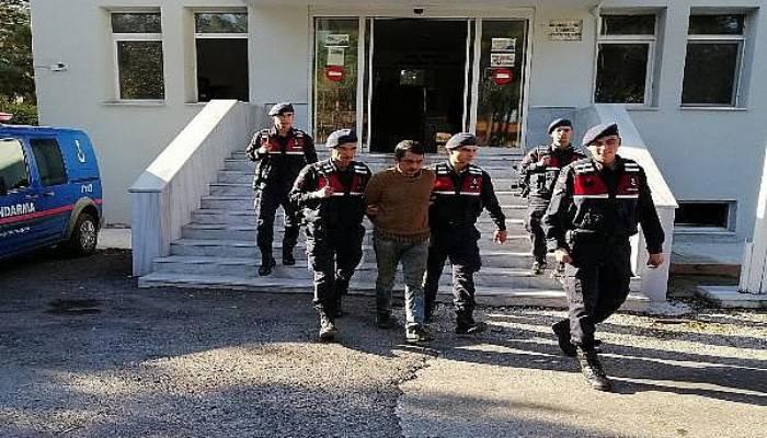 Cezaevi Firarisi Saklandığı Çatıda Yakalandı