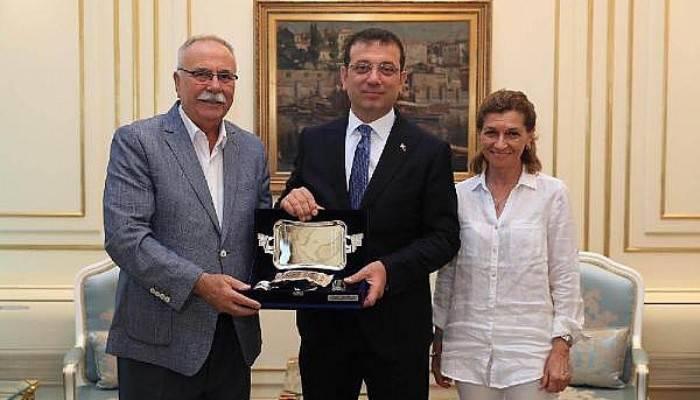 Başkan Gökhan'dan, İmamoğlu'na Ziyaret