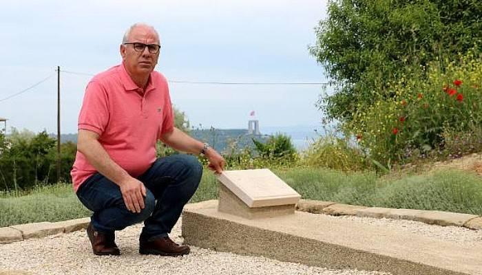 Gelibolu Yarımadası'nda, 'Türk Dostu' İngiliz Subay Mezarı