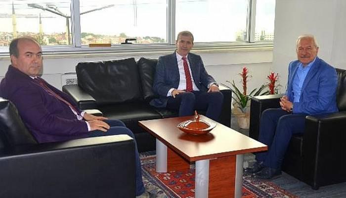 Başkan Yılmaz'dan, Rektör Yardımcısı Bacak'a Ziyaret