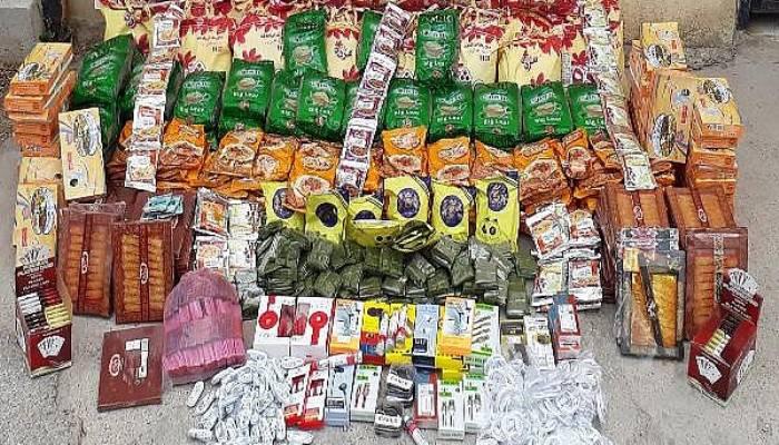 Çanakkale'de Kaçak Sigara ve Gıda Operasyonu