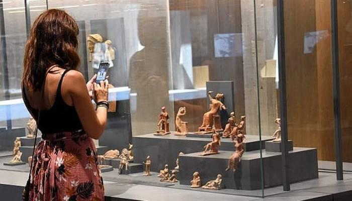Troya Müzesi'ndeki İşçi Hazineleri İlgi Çekiyor