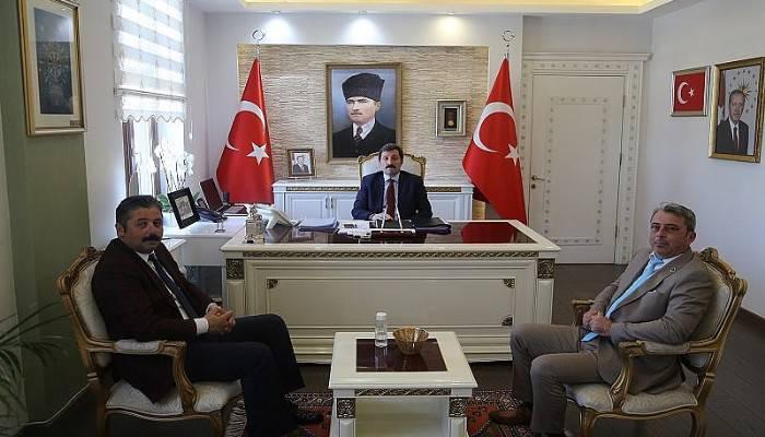 Başkan Uygun'dan Vali Tavlı'ya Ziyaret