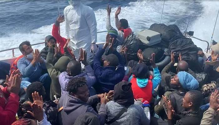 Yunanistan'ın Ölüme Terk Ettiği 134Göçmen Kurtarıldı