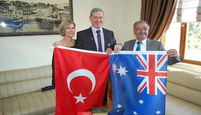 Gelibolu'dan Avustralya'ya Geçmiş Olsun Mesajı