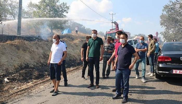 Gelibolu'da Yangın Kontrol Altına Alındı