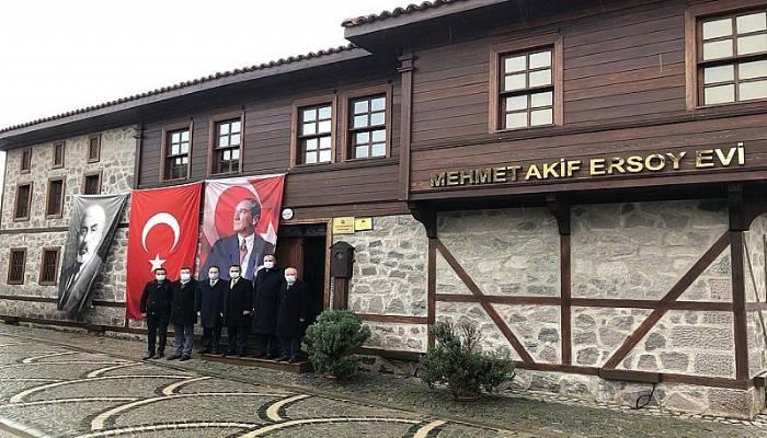 Vali Aktaş, Mehmet Akif Ersoy Müze Evini Ziyaret Etti