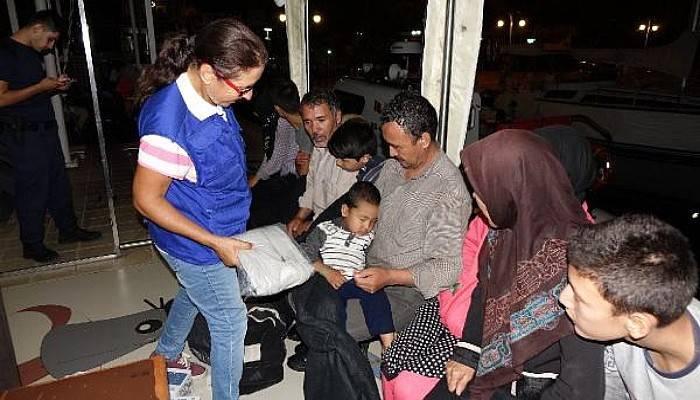 Ayvacık'ta 41 Kaçak Yakalandı