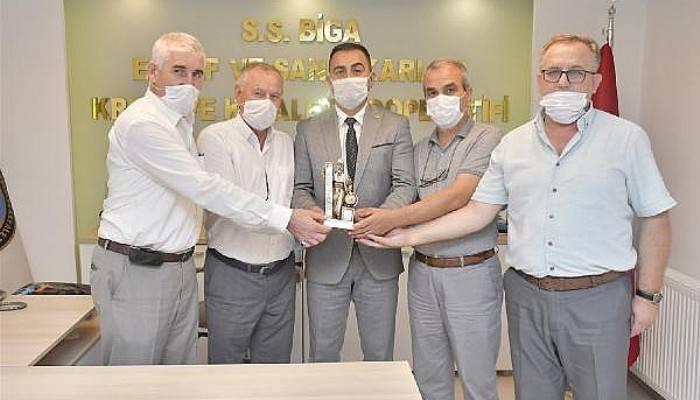 Biga Belediye Başkanı Erdoğan'dan Ahilik Haftası Ziyaretleri