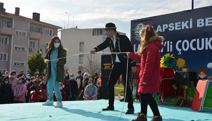 Lapseki Belediyesi'nden Çocuklara Pandemi Eğlencesi