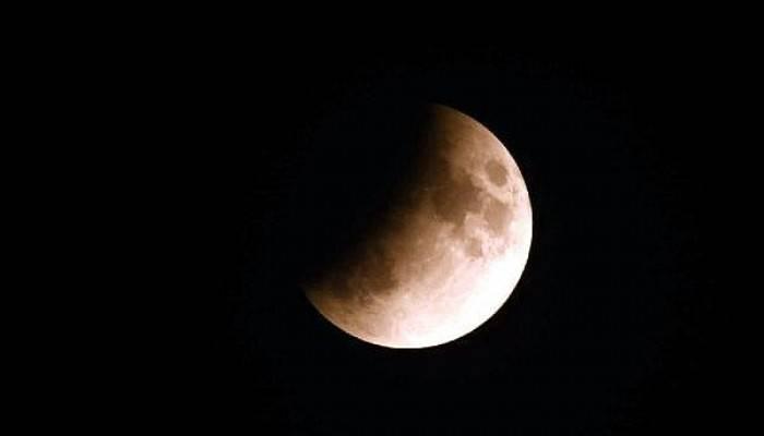 Çanakkale ve Bozcaada'da'Parçalı Ay Tutulması' Böyle Görüntülendi