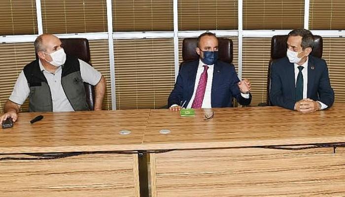 AK Parti'li Turan:Yanan Ciğerlerimize Odaklanmışken Siyasi Polemikler Doğru Değildi