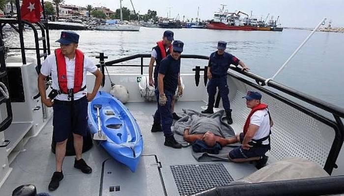 Kano Üzerinde Baygınlık Geçirdi, Sahil Güvenlik Kurtardı