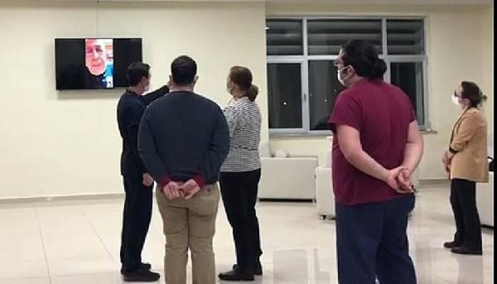 ÇOMÜ Rektörü Murat, Video Konferansla Hastane Çalışanlarına Seslendi