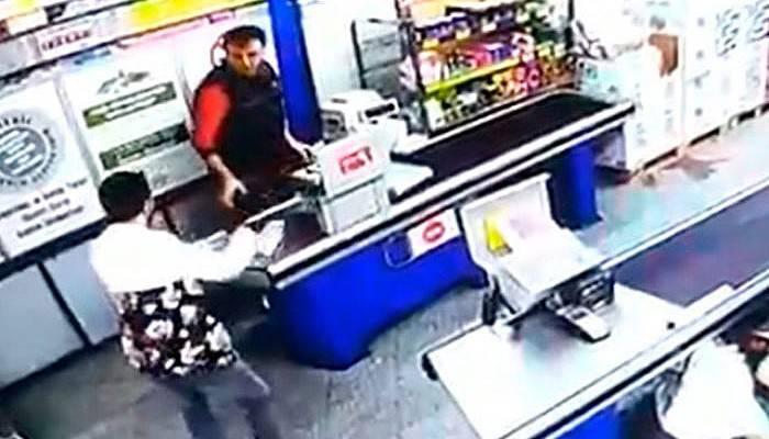 Silahlı Market Soyguncusu Tutuklandı