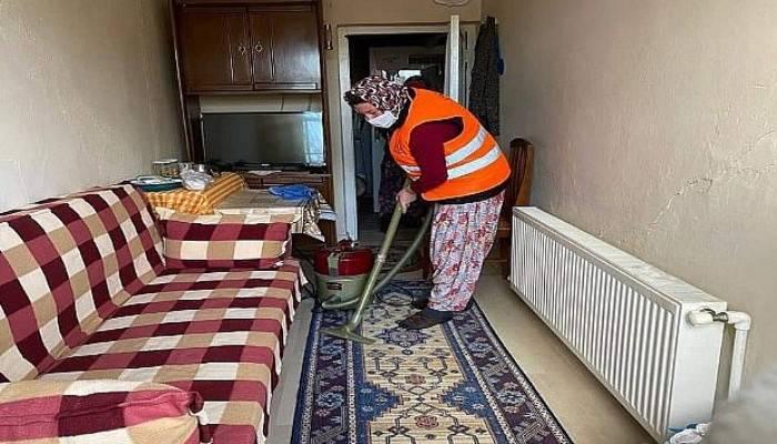 Çan Belediyesinden İhtiyaç Sahiplerine Evde Temizlik Desteği