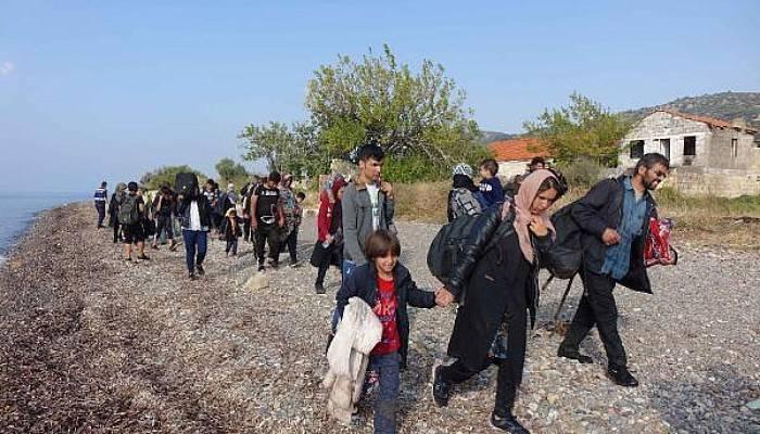 Ayvacık'ta 39 Kaçak Göçmen Ölümden Döndü