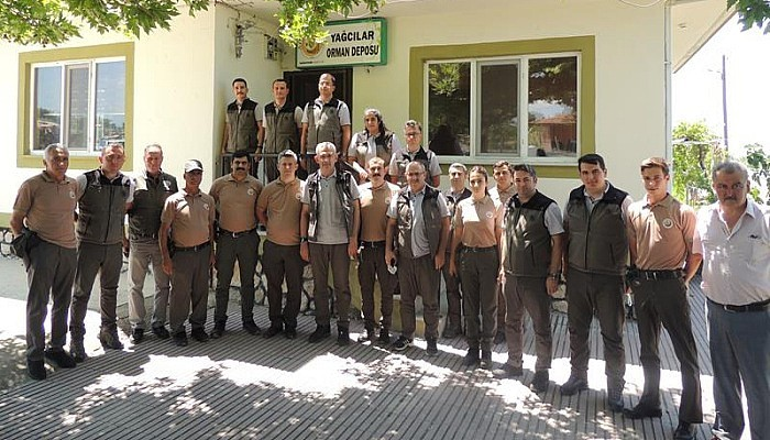 Genel Müdür Karacabey, Bayramiç Ekibini Ziyaret Etti