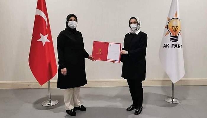 AK Parti Bayramiç Kadın Kolları Başkanı Avcı Oldu