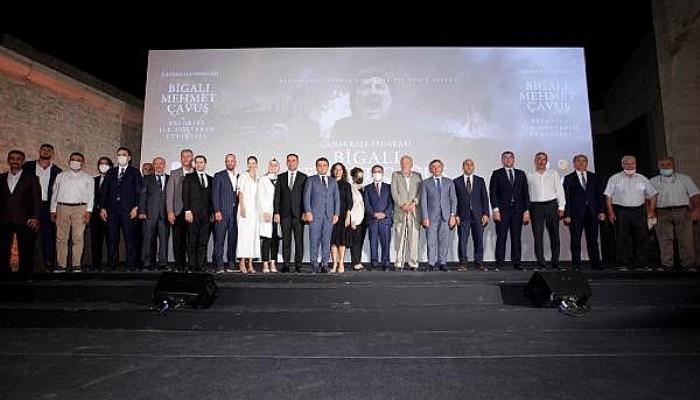 Bigalı Mehmet Çavuş Belgeseli'nin Galası Seddülbahir Kalesi'nde Yapıldı