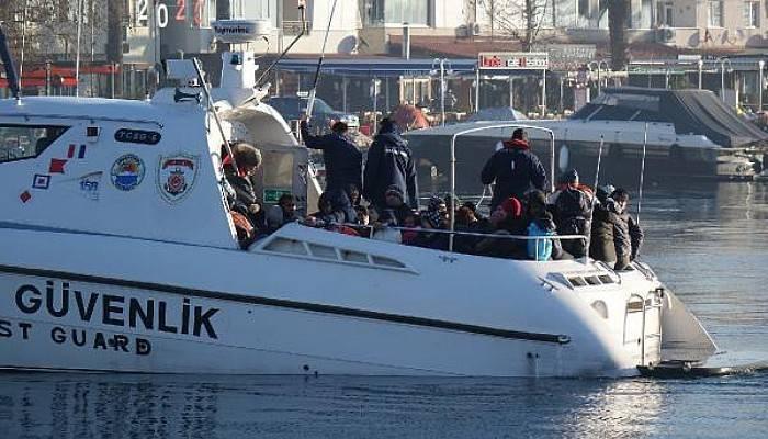 Ayvacık'ta 191 Kaçak Göçmen Yakalandı