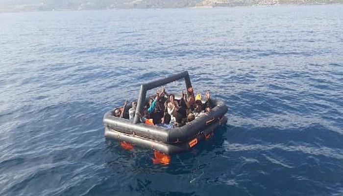 Ayvacık Açıklarında 14 Kaçak Göçmen Kurtarıldı