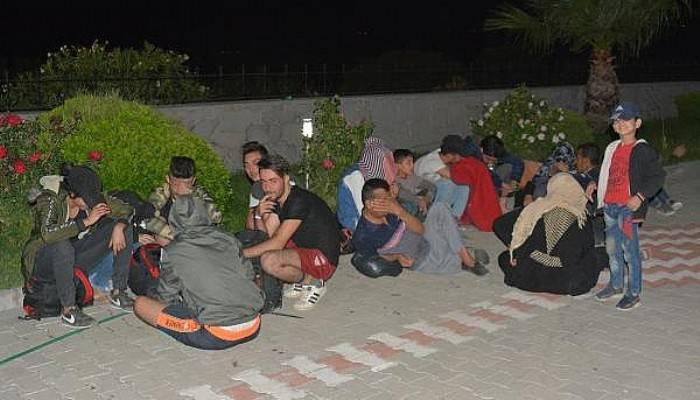 Ayvacık'ta 320 Kaçak Göçmen Yakalandı