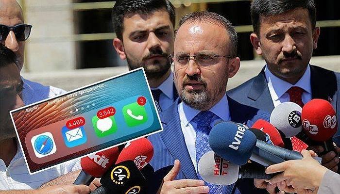 AK Partili Turan'ın Telefonunu 'Bedelli' Kilitledi