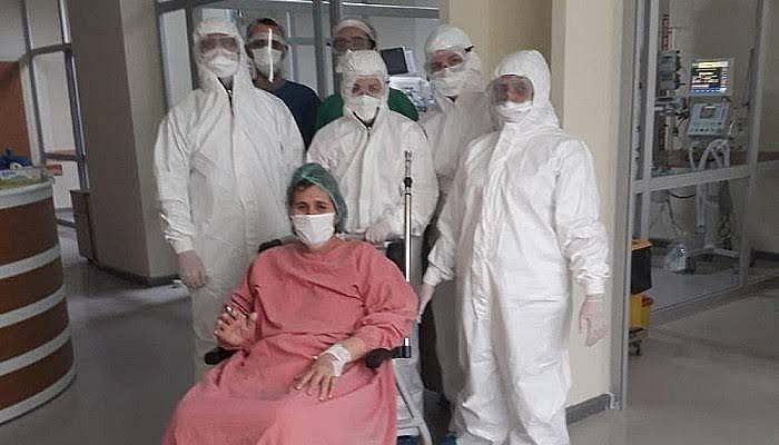 Çanakkale'de 63 Yaşındaki Hasta Sağlığına Kavuştu