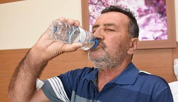 10 Yıllık Su Hasreti Nakille Sona Erdi