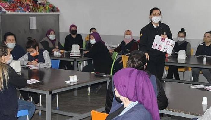 Jandarma Kadına Yönelik Şiddetle Mücadele Eğitimi Verdi