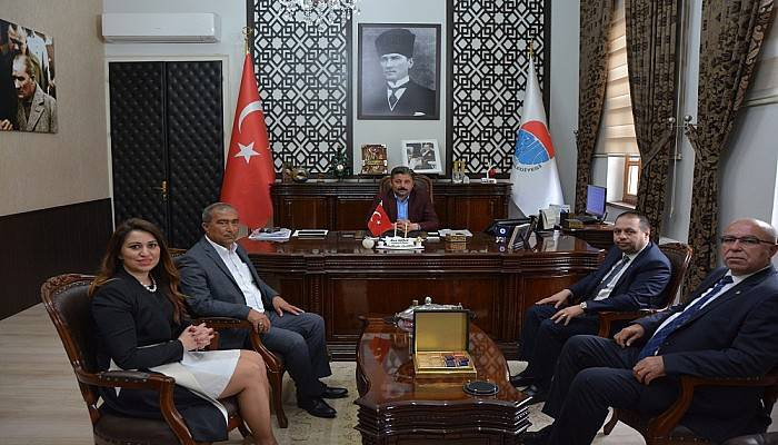 """Ticaret Borsası'ndan Uygun'a """"Hayırlı Olsun"""" Ziyareti"""