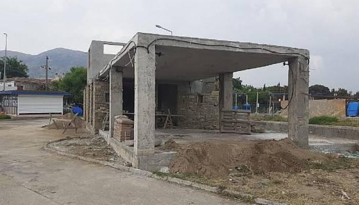 Gökçeada Belediyesi'nin Arkeolojik Sit Alanındaki İnşaatları Mühürlendi