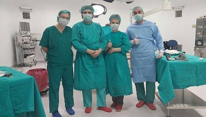 Yanık Ünitesinde İlk Operasyon