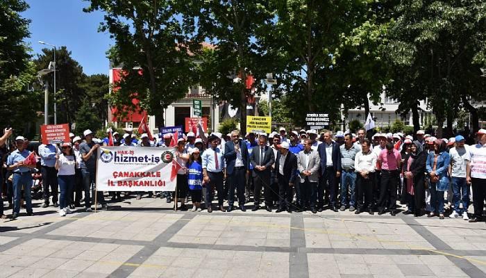 İşten Atılan Bayramiç Belediye İşçileri Yürüyecek