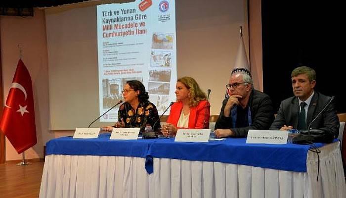 ÇOMÜ'de 'Milli Mücadele ve Cumhuriyetin İlanı' Konulu Panel Düzenlendi