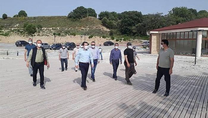 Troya Tarihi Milli Parkı Yeniköy Plajı Yenilendi