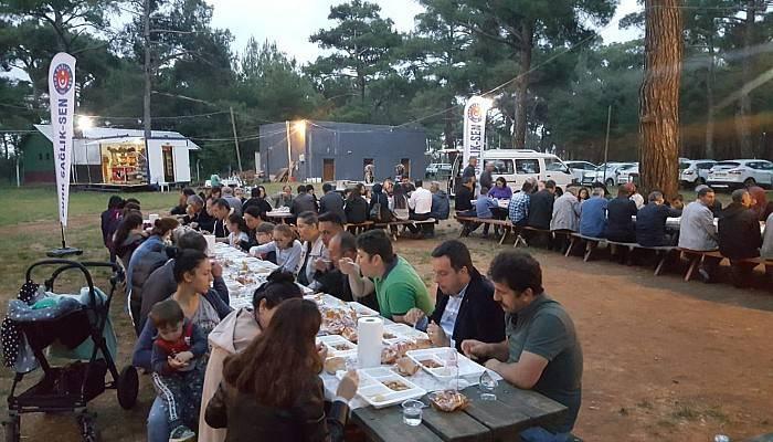 Türk Sağlık Sen Üyelerine Bayramiç'te İftar