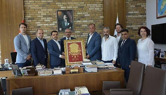 ÇTSO Heyeti, Alan Başkanı Kaşdemir'i Ziyaret Etti