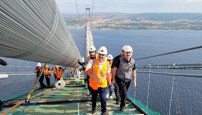 'Hedefimiz, Köprüyü 2022'de Açmak'