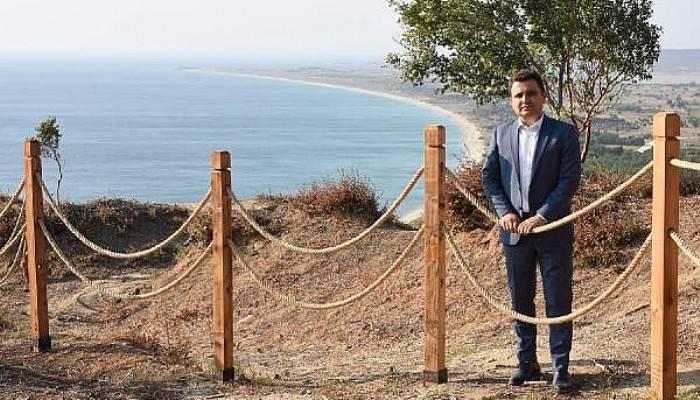 Çanakkale Şehitliğine, 'Arıburnu Cephesi Yürüyüş Güzergahı'