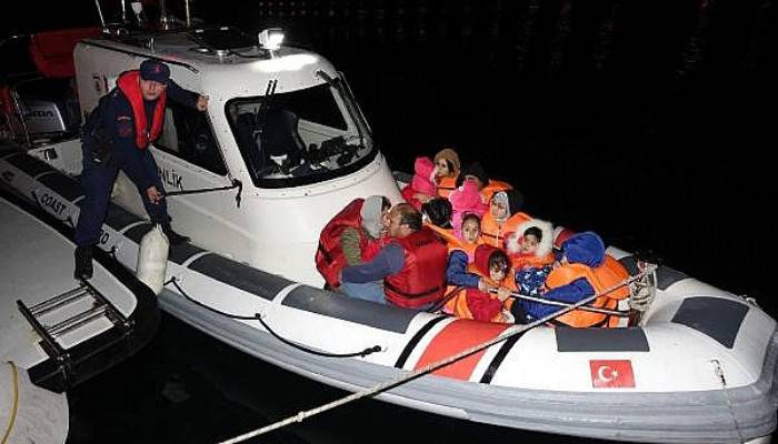 Ayvacık'ta 39 Kaçak Yakalandı