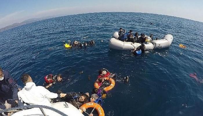 Sahil Güvenlik, 5 Ayda Yunanistan'ın Geri İttiği 1286 Göçmeni Kurtardı