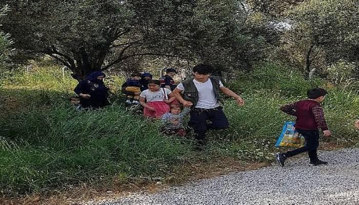 Çanakkale'de 54 Kaçak Göçmen Yakalandı