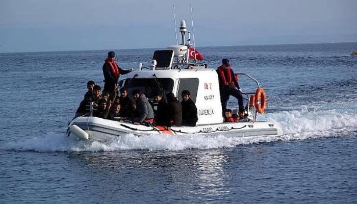 Ayvacık'ta 131 Kaçak Göçmen Yakalandı