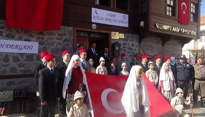 Mehmet Akif Ersoy, Çocukluğunun Geçtiği Evde Anıldı
