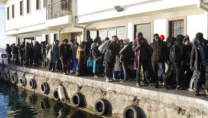 Ayvacık'ta 247 Kaçak Göçmen Yakalandı