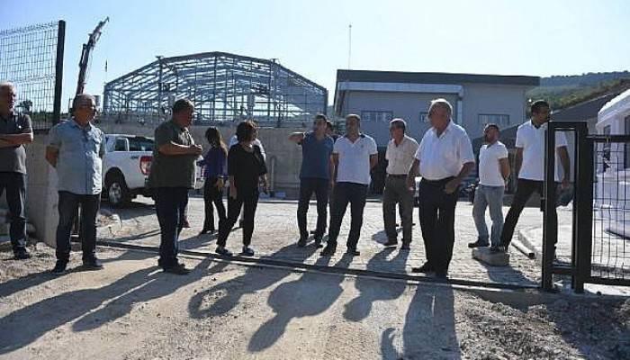 Başkan Gökhan, Atık Su Arıtma Tesisinde İnceleme Yaptı