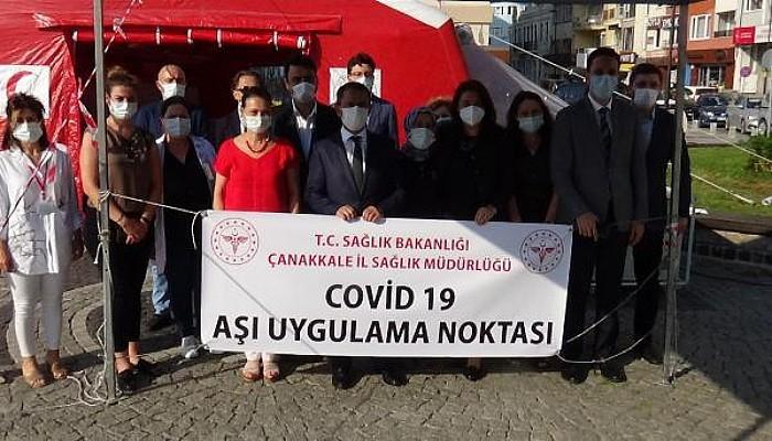 Çanakkale, Covid-19 Aşı Haritasında Mavi Renge Döndü