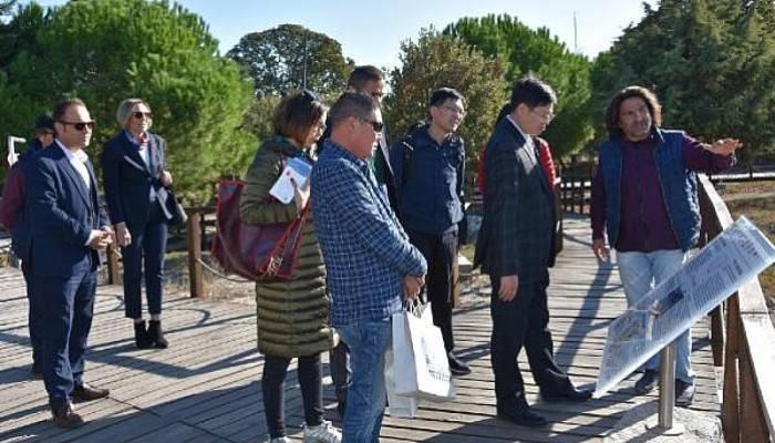 Çin Heyetinden Çanakkale Ziyareti